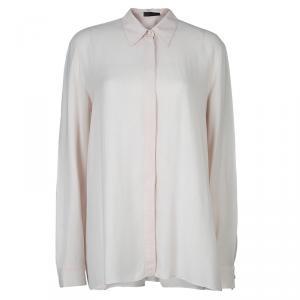 The Row Blush Pink Long Sleeve Buttondown Shirt M