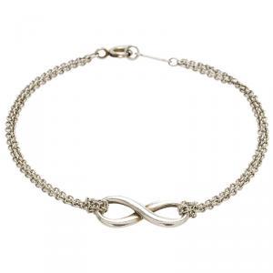 Tiffany & Co. Silver Infinity Bracelet 17cm