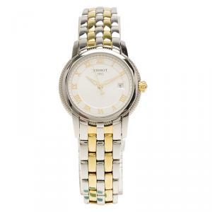 Tissot White Stainless Steel Ballade III Women's Wristwatch 28MM