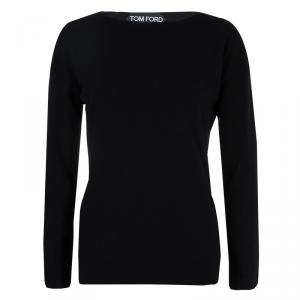 Tom Ford Black Cashmere Sweater M