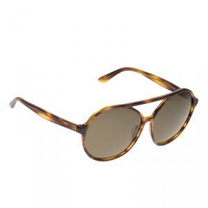 Valentino Tortoise Frame V727S Round Sunglasses