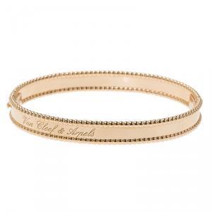 Van Cleef & Arpels Perlée Signature Rose Gold Bracelet