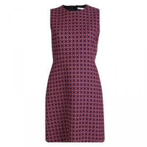 Victoria Victoria Beckham Multicolor Patterned Sleeveless Dress M