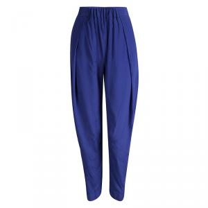 Vivienne Westwood Anglomania Blue Elasticized Waist  Realm Trousers S