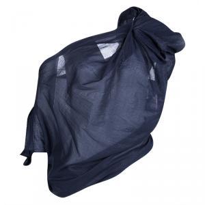 Vivienne Westwood Red Label Blue Draped Asymmetric Off Shoulder Top M