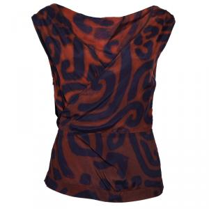 Vivienne Westwood Anglomania Printed Backless Top S