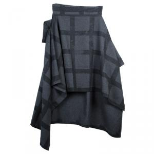 Vivienne Westwood Anglomania Gaia Plaid Wool Cape Coat S