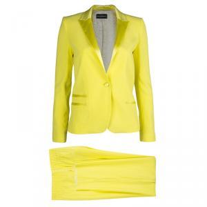 Zadig & Voltaire Deluxe Yellow Pant Suit S