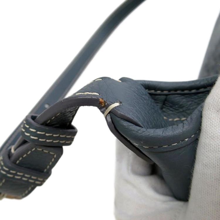 Goyard Black Chevron Coated Canvas/Leather Grenadines Shoulder Bag