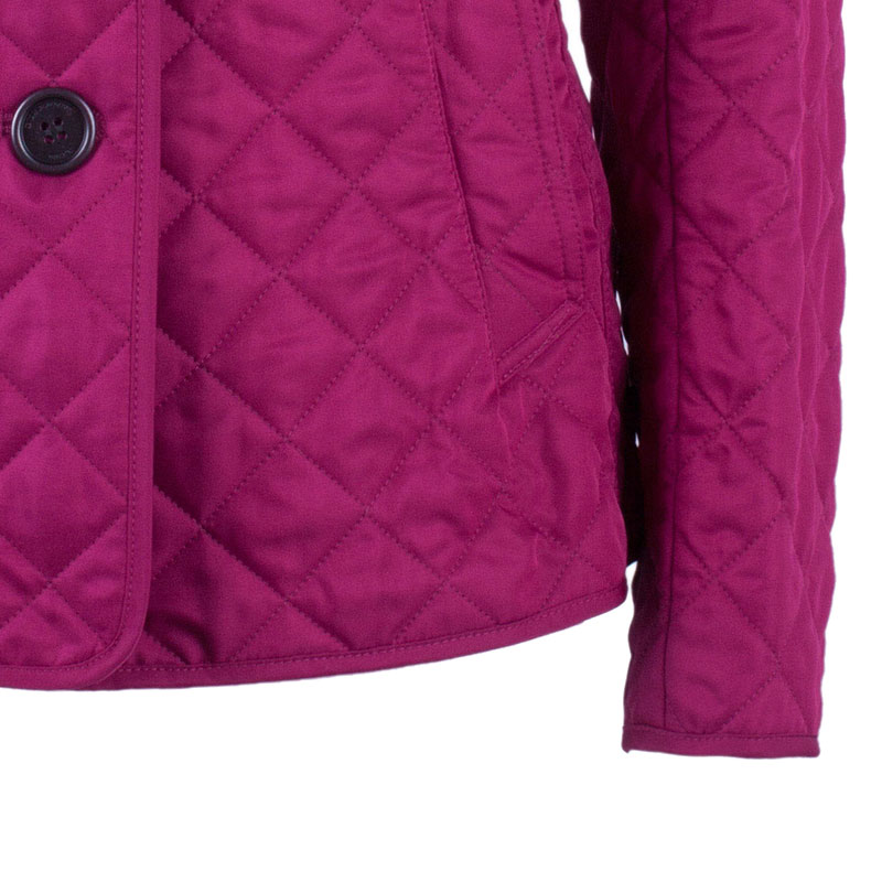 Burberry Copford Fuschia Quilted Jacket M
