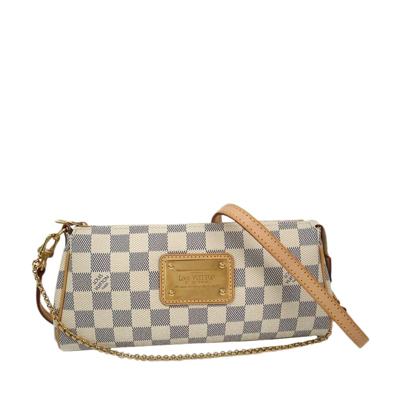 Buy Louis Vuitton Damier Azur Eva Clutch 50726 At Best Price Tlc
