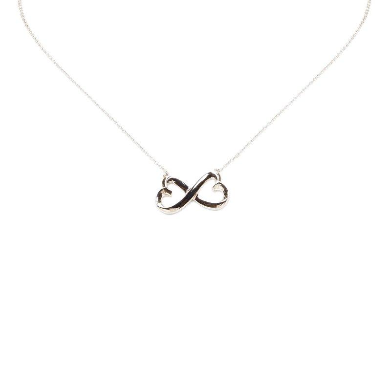 Tiffany co paloma picasso double loving heart silver pendant prevnext aloadofball Choice Image