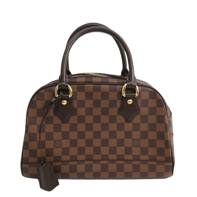 Louis Vuitton Damier Ebene Canvas Duomo Bowling Bag Nextprev Prevnext
