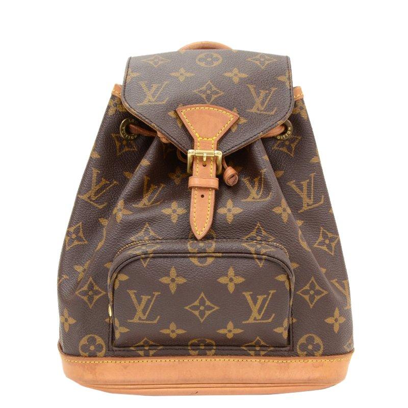 f277928c3 Louis Vuitton Monogram Canvas Montsouris Backpack Mm Lc