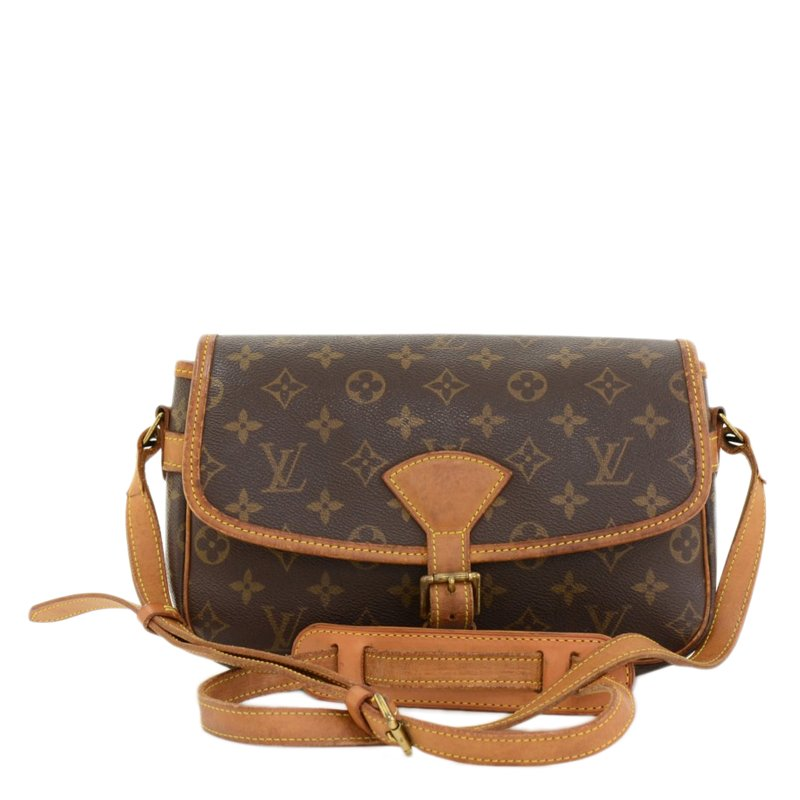 Louis Vuitton Monogram Sologne Crossbody Shoulder Handbag osPRu