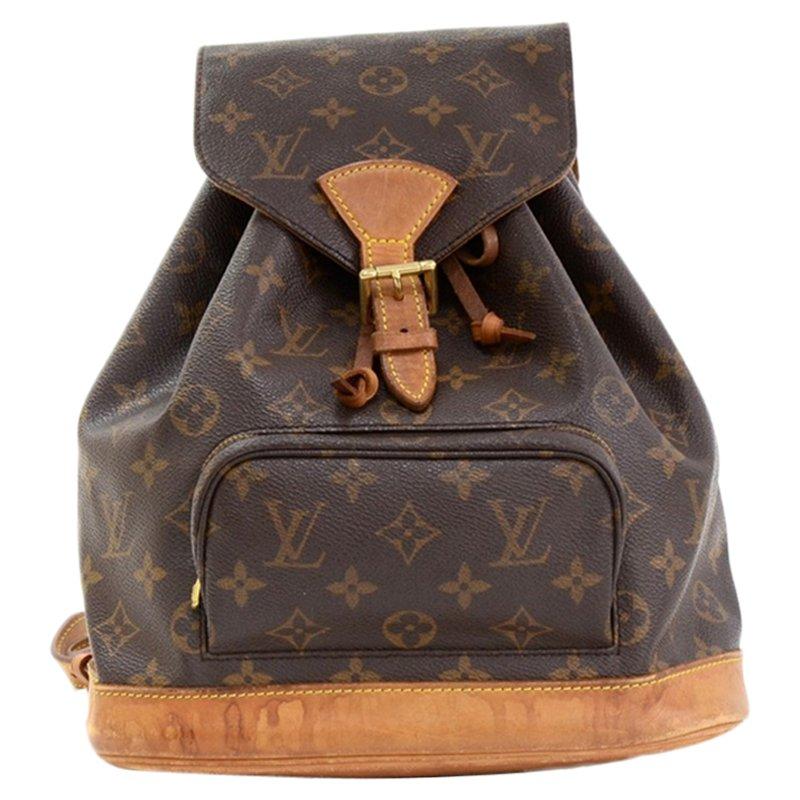b97c86060798 Louis Vuitton Monogram Canvas Montsouris Backpack Mm Nextprev Prevnext