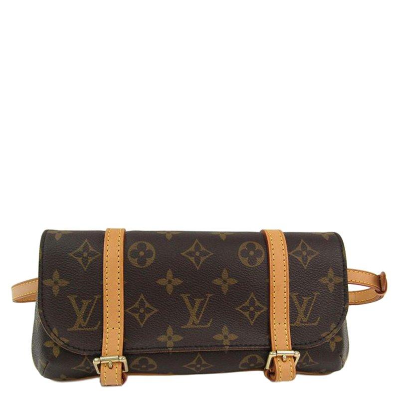 ed6b6e93d281 Louis Vuitton Monogram Canvas Pochette Marelle Waist Bag
