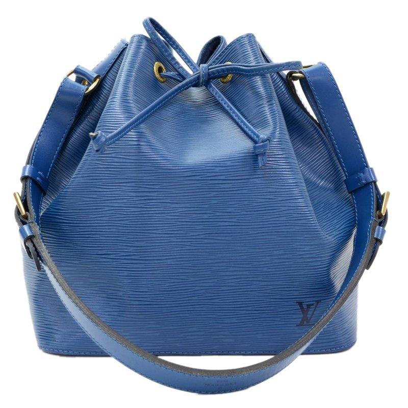 4b8298dd2f32 ... Louis Vuitton Toledo Blue Epi Leather Petit Noe Bag. nextprev. prevnext