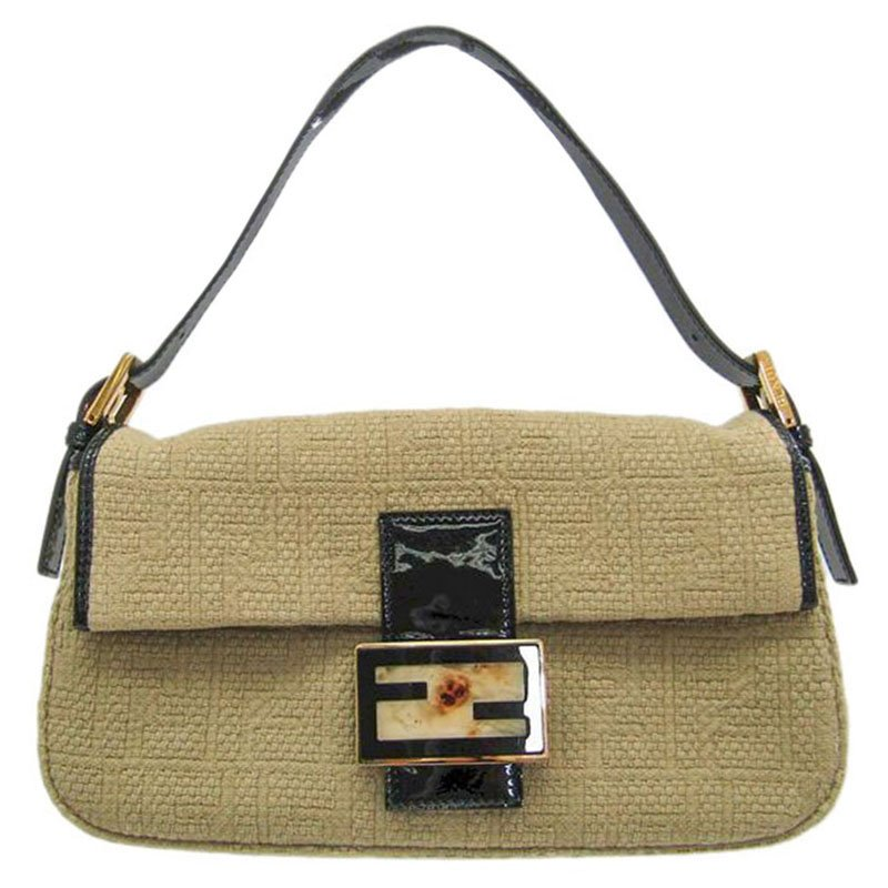 52594cedaa ... ireland fendi beige zucca woven canvas baguette bag buy sell lc cd893  31a6a