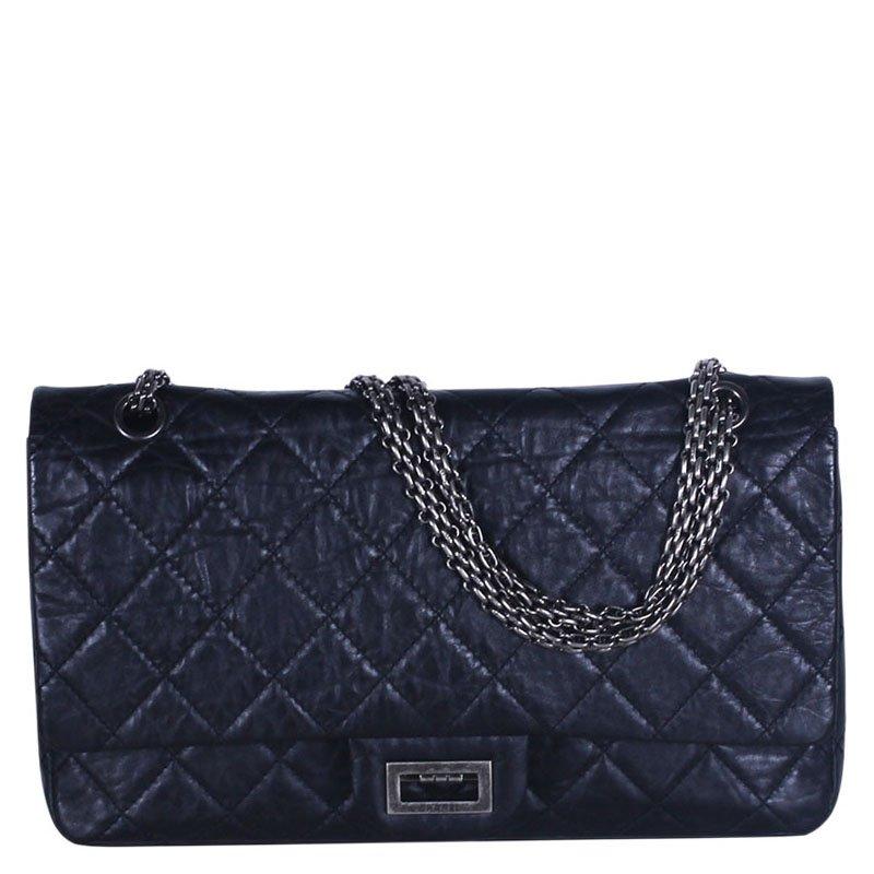 c5b90ee4bca6 ... Chanel Black Quilted Aged Calfskin 226 Reissue 2.55 Flap Bag. nextprev.  prevnext