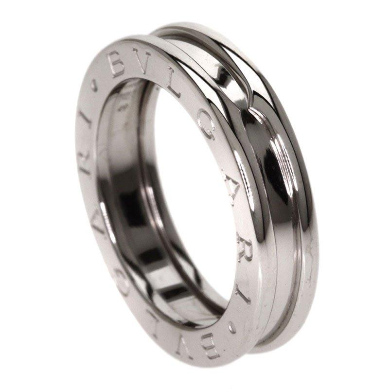 bvlgari bzero1 1band white gold ring size 49 nextprev prevnext
