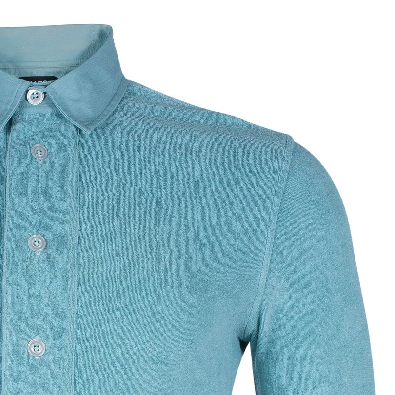 Tom Ford Men's Turquoise Cotton Polo Shirt S