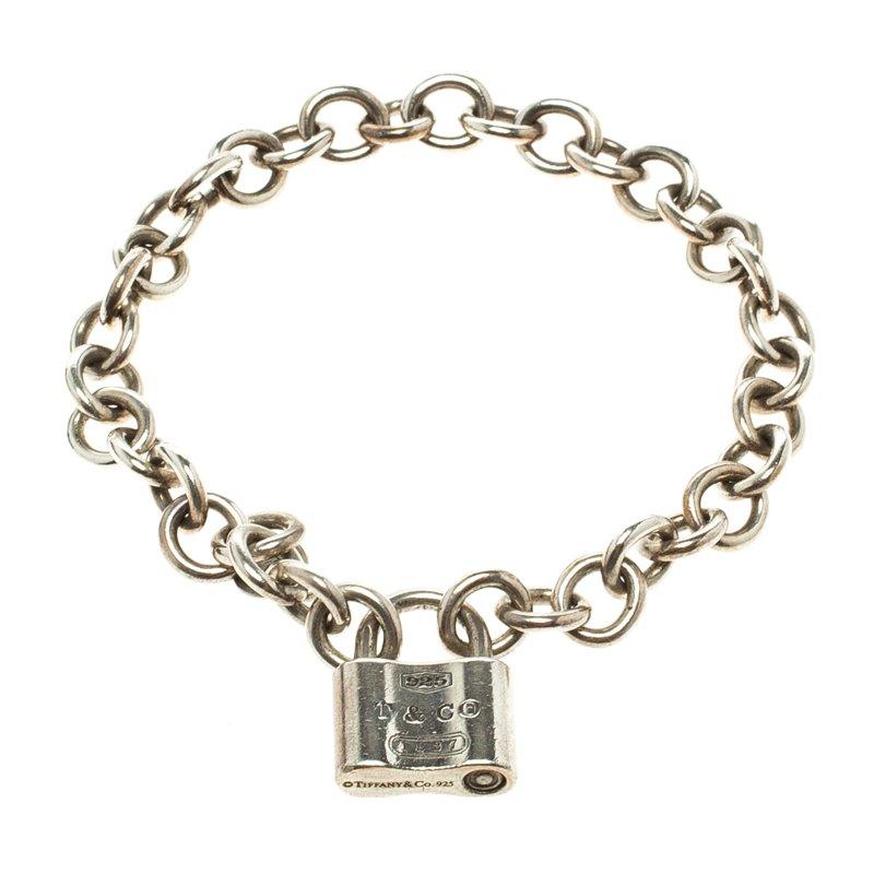 Tiffany 1837 Silver Lock Bracelet 18cm Nextprev Prevnext