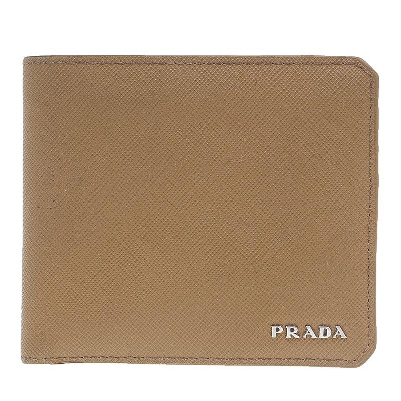 20c4b6f104fe8a ... spain prada camel american saffiano bi fold corner wallet. nextprev.  prevnext 8f8aa 68b25