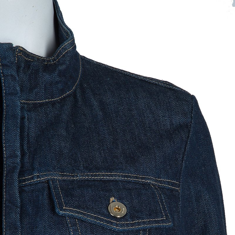 Gucci Denim Fitted Jacket M