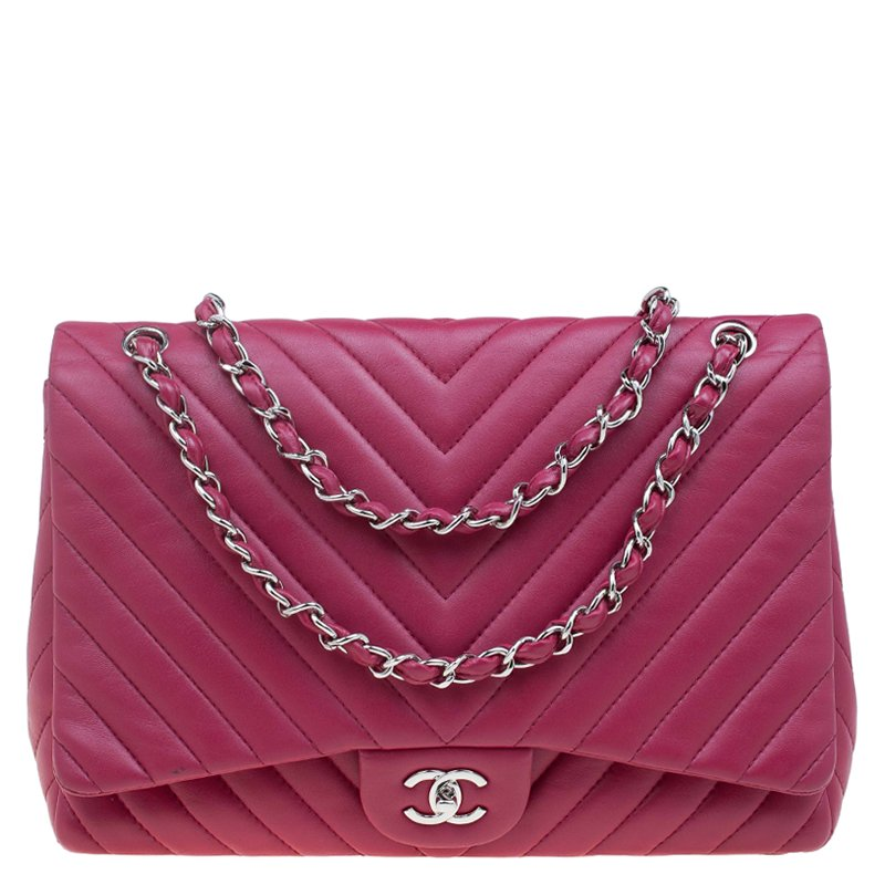 7728b968262f Chanel Lambskin Chevron Quilting Flap Bag - Best Quilt Grafimage.co