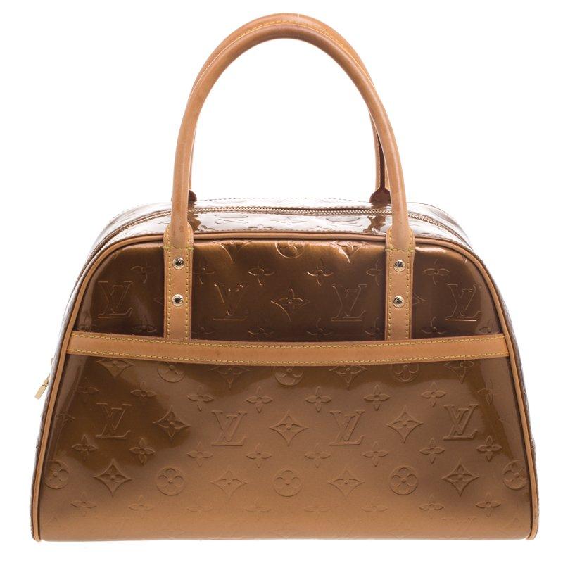 Louis Vuitton Tompkins Square Satchel Monogram Vernis S4tHJIdBdE
