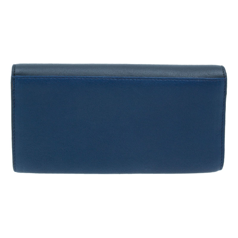 Chloe Two Tone Leather Bobbie Wallet
