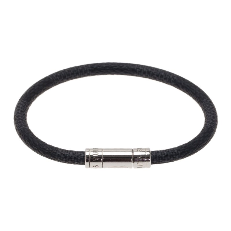 Louis Vuitton Mens Damier Graphite Bracelet Nextprev Prevnext