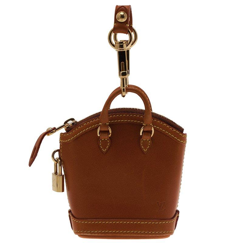 Louis Vuitton Brown Lockit Collector S Mini Bag Charm Nextprev Prevnext