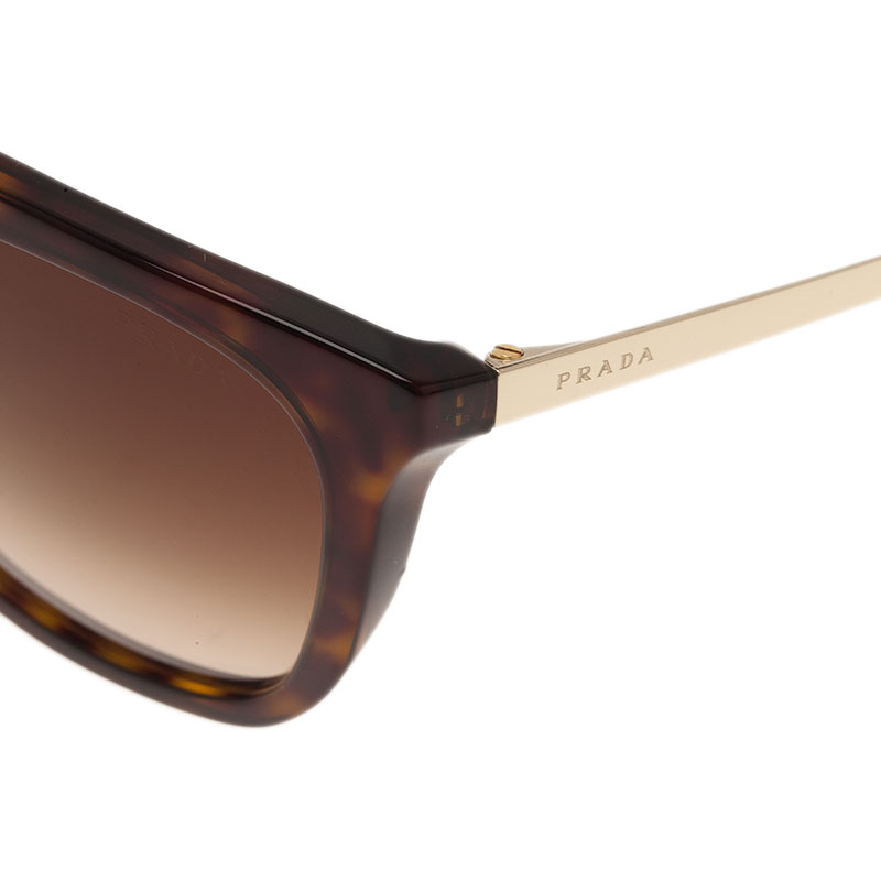 Prada Tortoise Frame Cat Eye Sunglasses