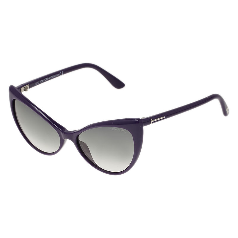 Tom Ford Purple Anastasia Cat Eye Sunglasses