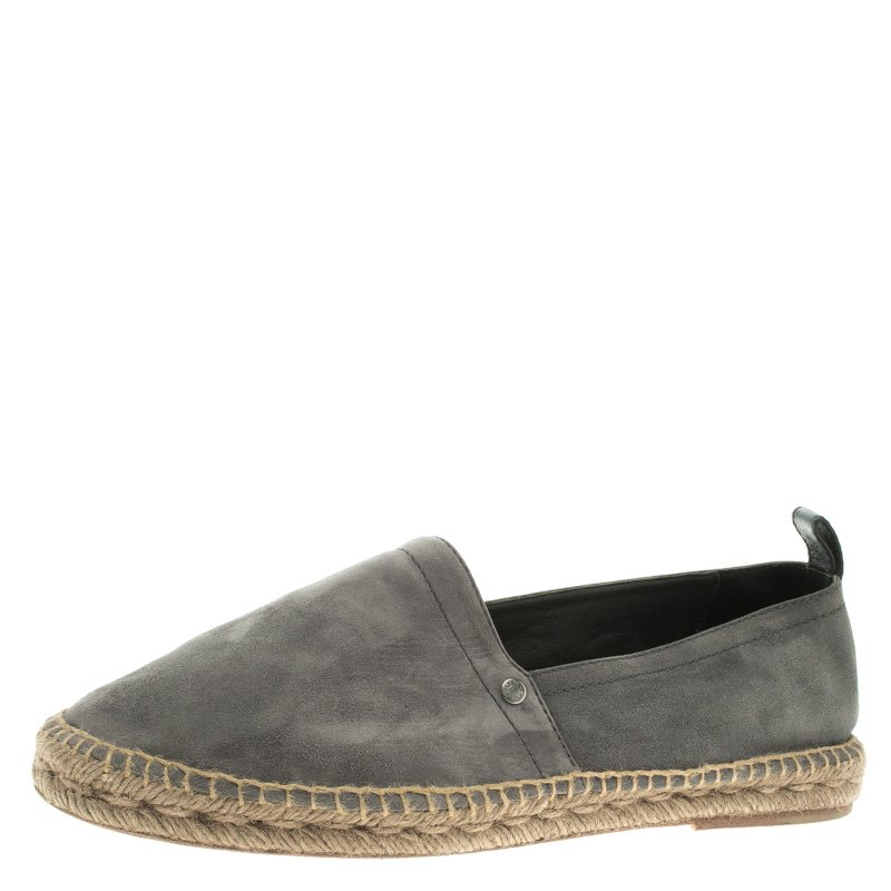 Pre-owned - Grey Suede Espadrilles Bottega Veneta