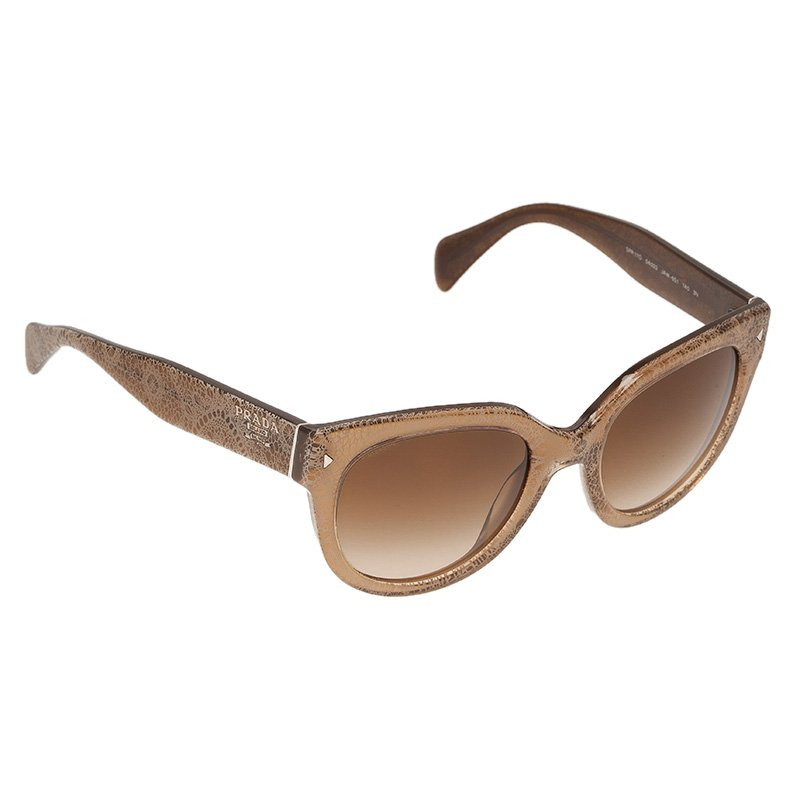 39aec544ed147 ... hot prada brown printed spr 17o round sunglasses. nextprev. prevnext  606b5 086c6