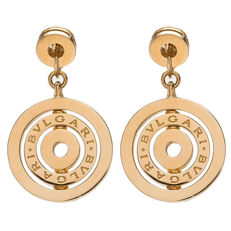 Bvlgari Cerchi Astrale Yellow Gold Earrings Nextprev Prevnext