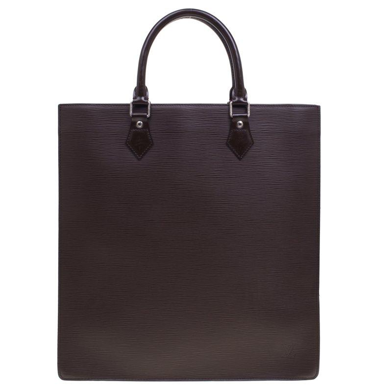 ... Louis Vuitton Moka Epi Leather Sac Plat GM Bag. nextprev. prevnext 98c00129459