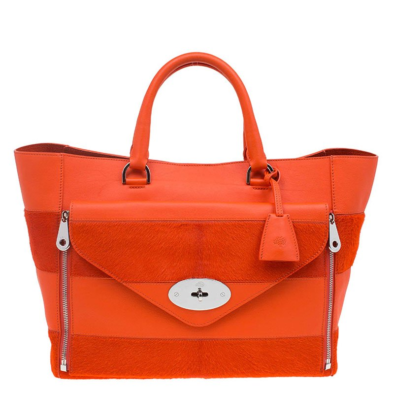 013607646de1 ... discount code for mulberry orange calfhair stripe and leather willow  tote buy sell 56606 7cd0f