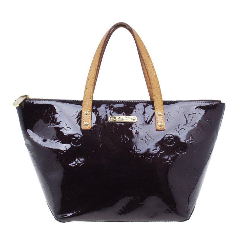 Pre-owned - Bellevue patent leather handbag Louis Vuitton GOlKHqFT