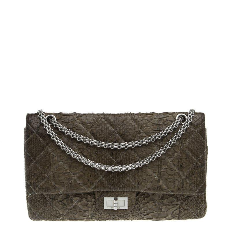 8a0de69752fb ... nextprev. prevnext  new styles f334b e66f5 ... Chanel Grey Quilted  Python Reissue 2.55 Classic Flap Bag ...
