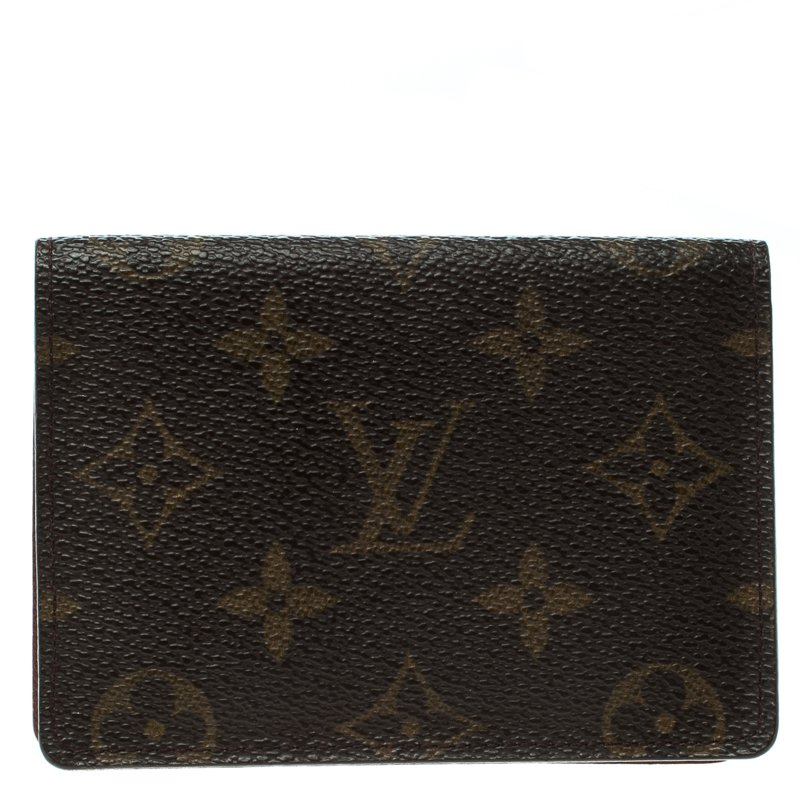 Louis vuitton Monogram Canvas ID Card Holder - Buy & Sell - LC