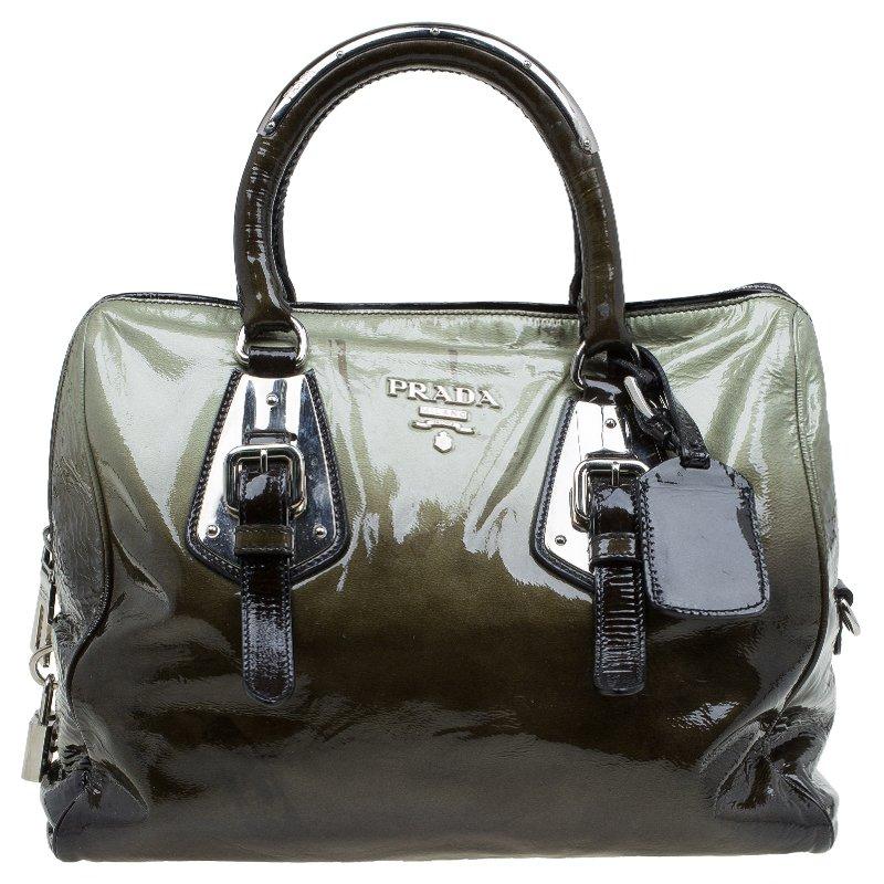 6bb4258029eb ... low price prada ombre vernice leather sfumata bowler tote buy sell lc  325fe db521