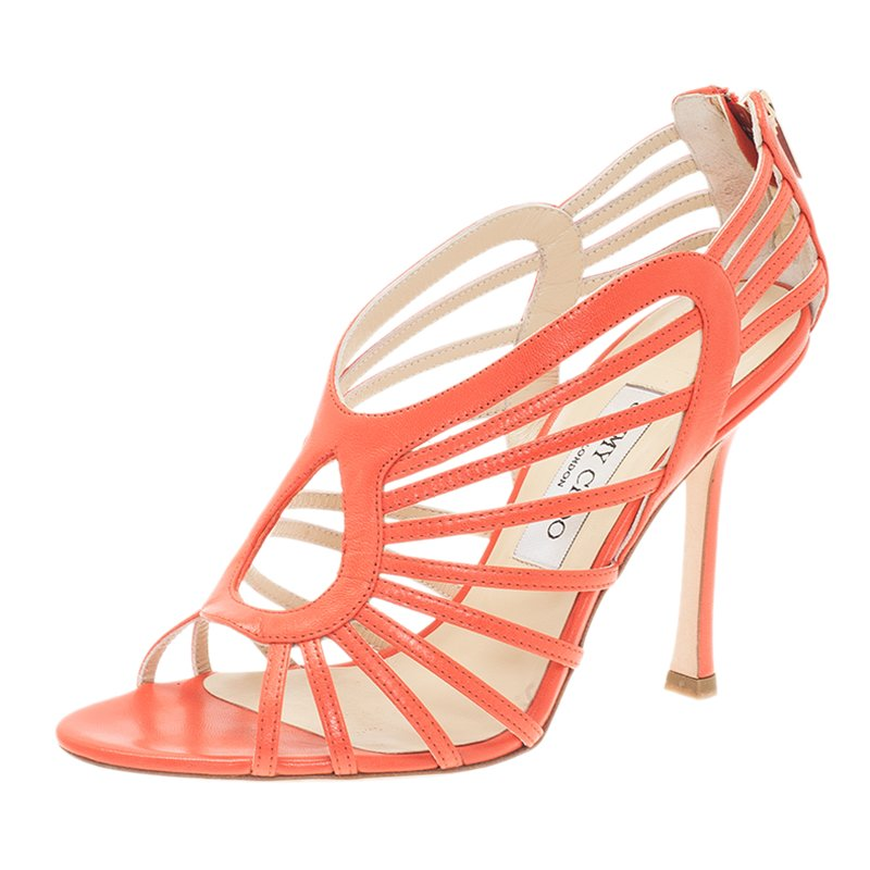 Jimmy Choo Samoa Cutout Sandals cheap wide range of sale order where to buy low price C6wkbBm