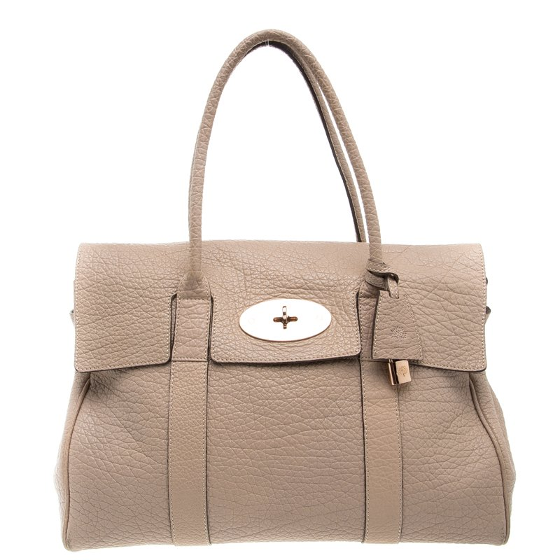 432c2a9be33 ... italy mulberry beige grained leather bayswater satchel. nextprev.  prevnext 515c1 98387 ...