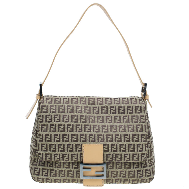 ... aliexpress fendi brown zucchino mama forever baguette shoulder bag buy  sell f6b12 86a46 8fbea126eb345