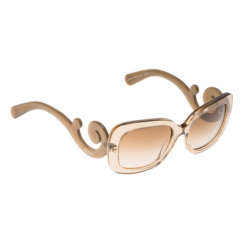 aa53026661db00 ... spain prada translucent brown baroque rectangle sunglasses. nextprev.  prevnext e6800 0f051 ...