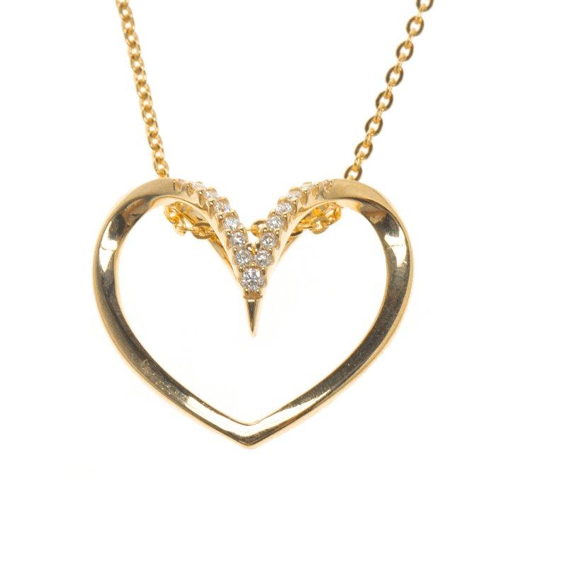 Bernhard h mayer milena heart diamond 18k yellow gold pendant buy 18k yellow gold pendant nextprev prevnext aloadofball Gallery